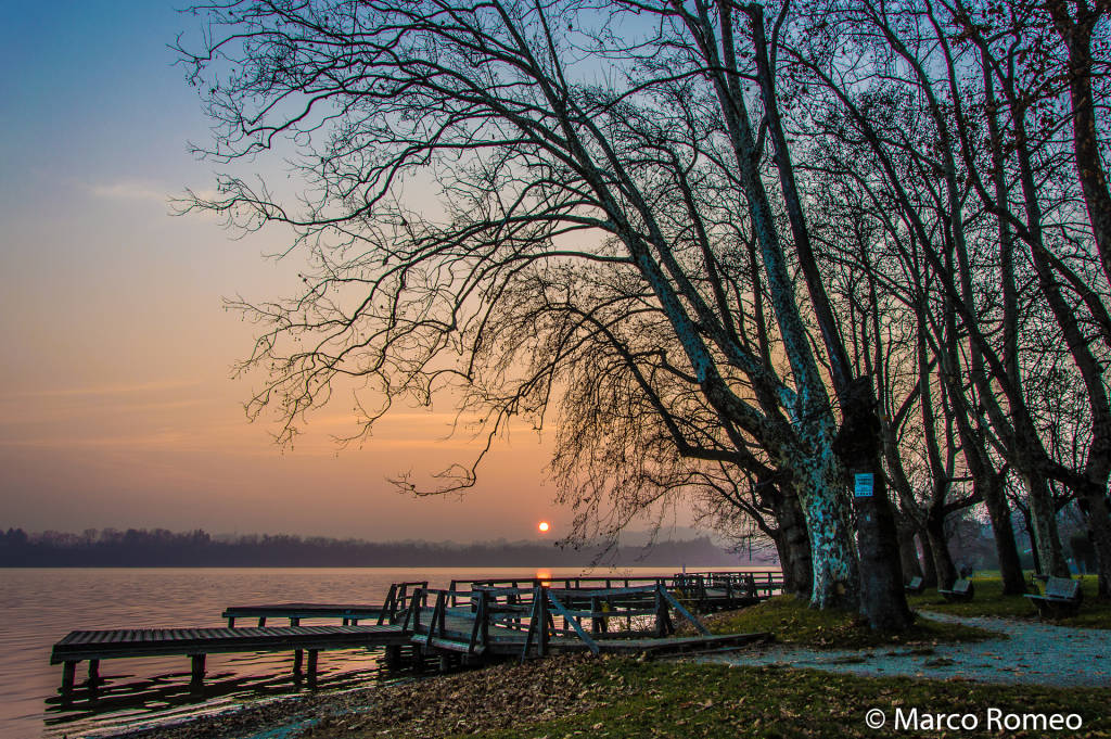 Il tramonto incantato