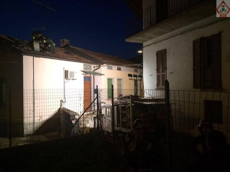Incendio canna fumaria a Gemonio