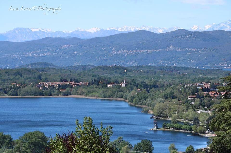 Lago di Varese dall\'alto