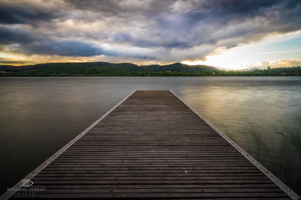 Tramonto sul Lago di Corgeno