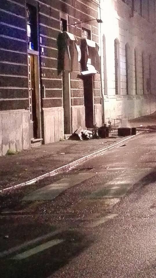 Esplosione Locale Stone via Carducci Busto Arsizio