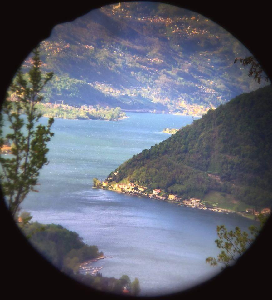 Foto di oggi dal Monte orsa, Scorcio del lago di Lugano