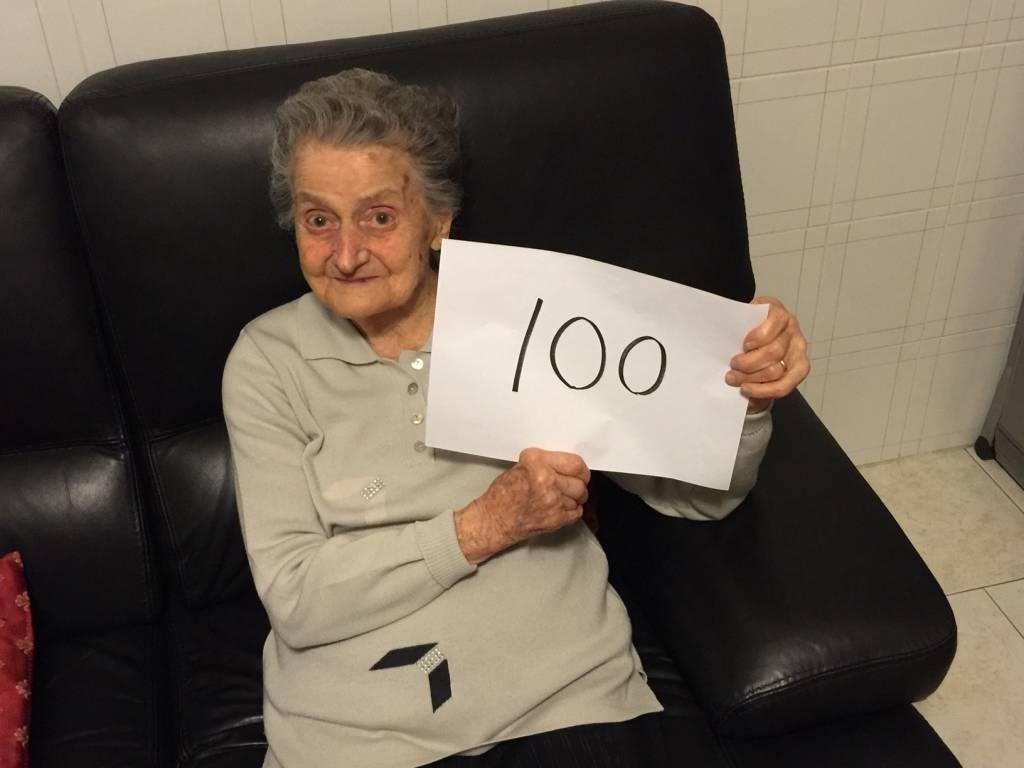 Auguri a nonna Emilia