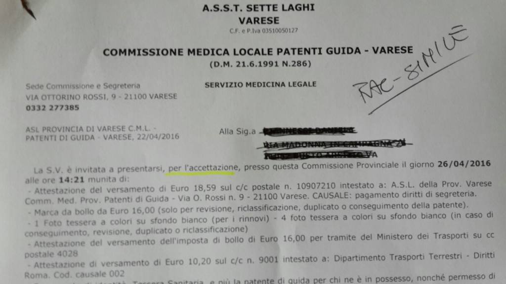 Commissione patenti