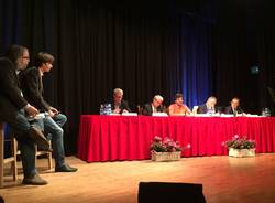 confronto candidati sindaco busto arsizio borsano salone aurora