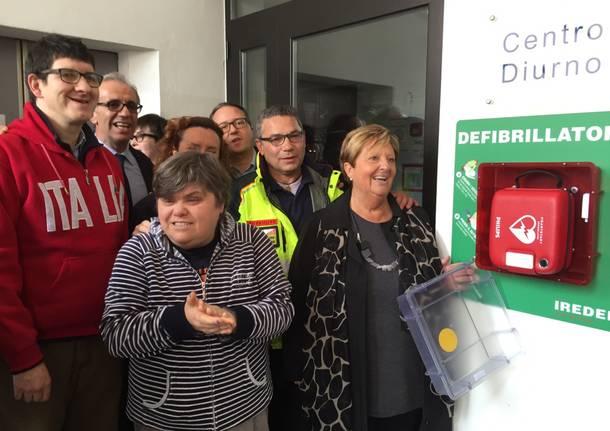 defibrillatore nella casa di Bobbiate