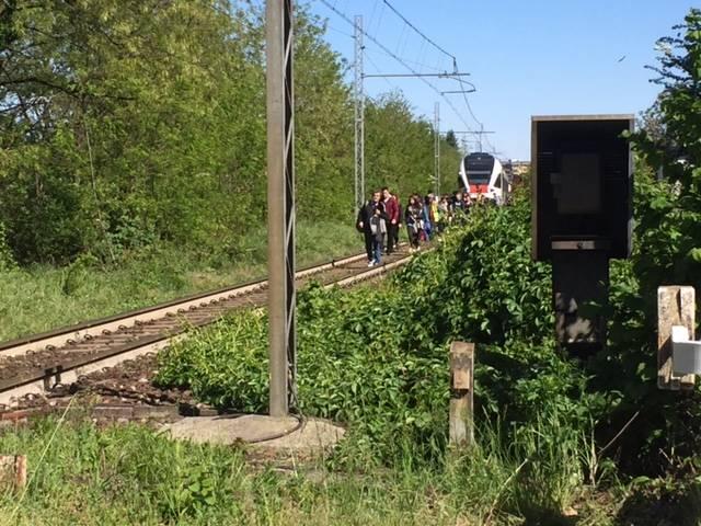 donna investita treno gallarate