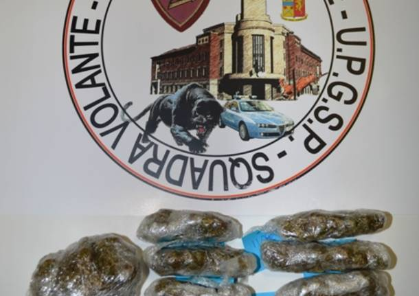 droga marijuana polizia