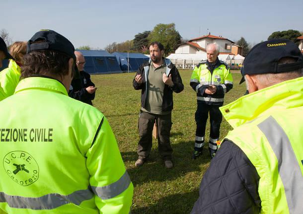 Esercitazione Brughiera 2016 Protezione Civile Unuci