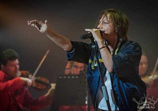 Gianna Nannini in concerto all'Arcimboli