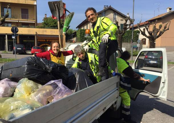 Giornata del verde pulito a Buguggiate