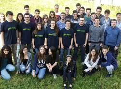 gli studenti del debate a Montecitorio