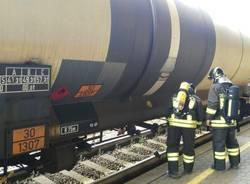 Gocciolamento cisterna ferrovia Sesto Calende