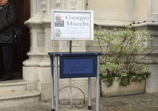 I funerali di Giorgio Macchi