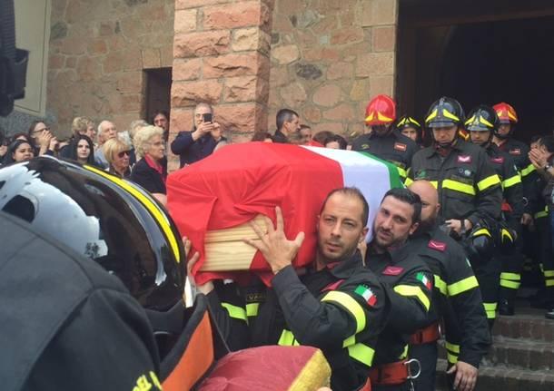 Il funerale di Roberto Zanella