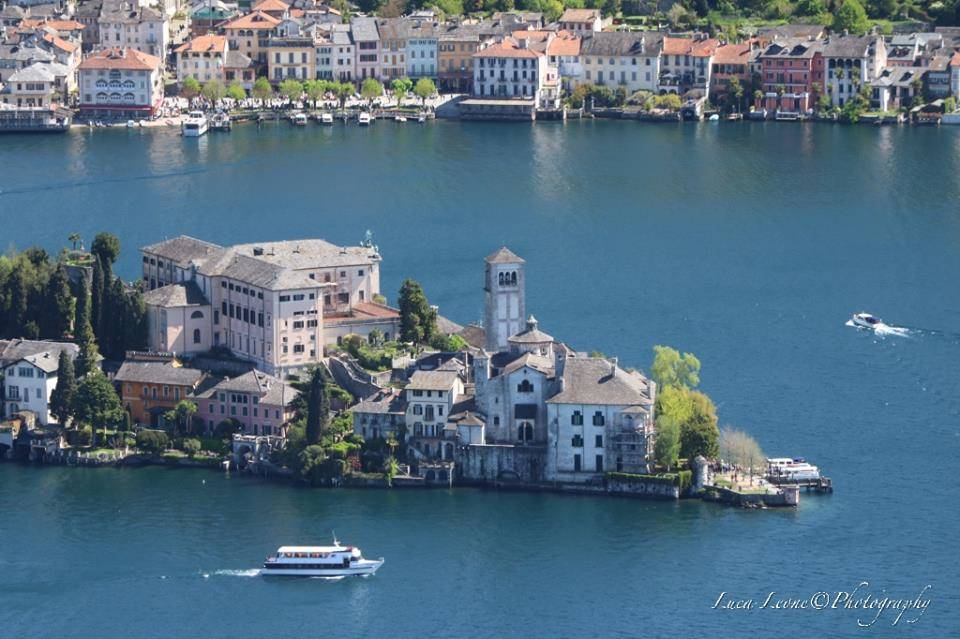 Il lago d'Orta dall'alto - foto di Luca Leone