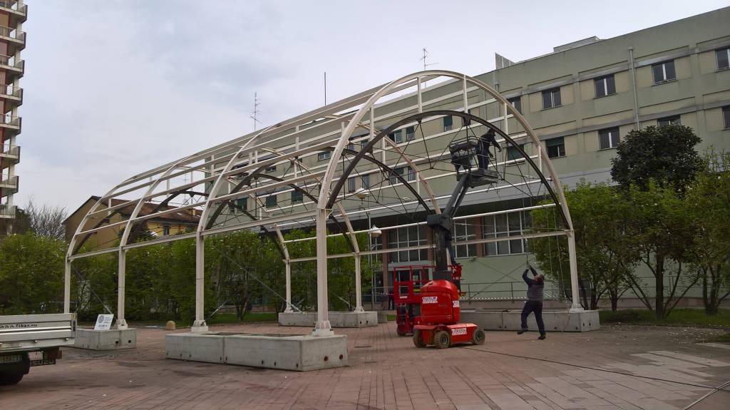 Il trasloco dell'Expo Hub