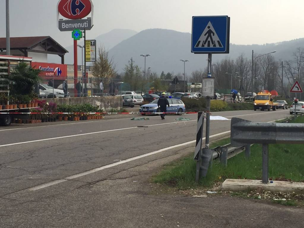 Incidente mortale a Cugliate Fabiasco