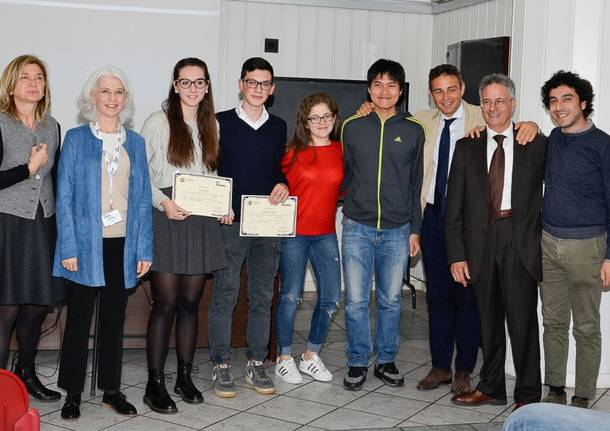 Due studenti malnatesi premiati da Intercultura