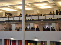 """L'inaugurazione di """"Abitare"""" al Museo Maga"""