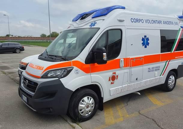 la nuova ambulanza del cva di angera