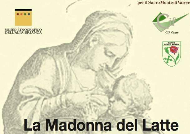 Madonna del latte a Sacro Monte