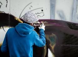 Murales Andrea Ravo Mattoni dedicato a Caravaggio