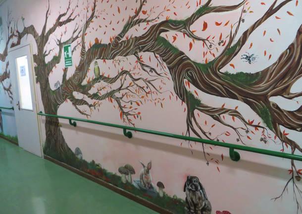 murales centro di via maspero