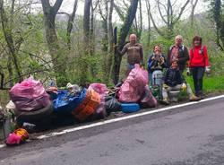 Oltre 50 sacchi di immondizia raccolti a Sacro Monte