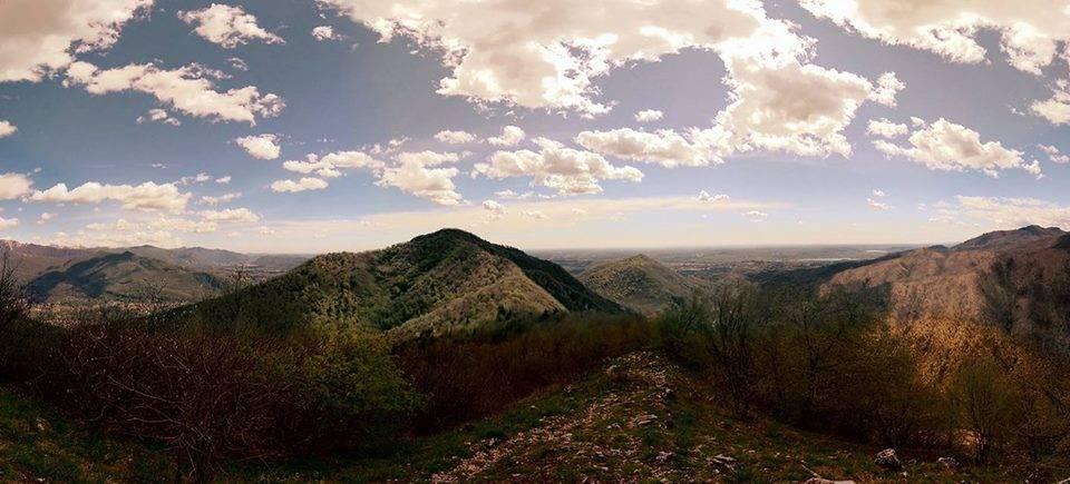 Panorama dal Poncione di Ganna