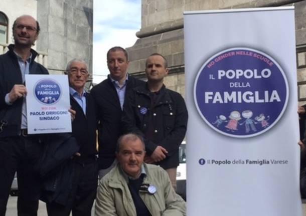 Paolo Orrigoni campagna elettorale