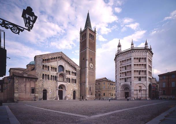 Parma battistero cattedrale