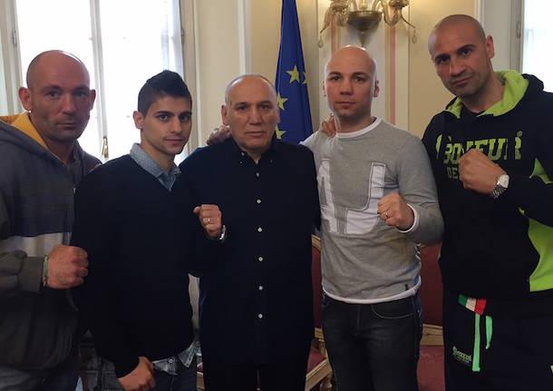 presentazione riunione international boxing pugilato varese 2016