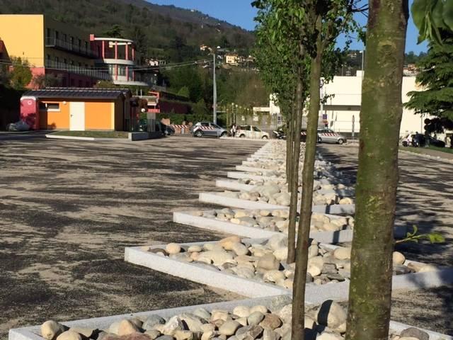 pronto il parcheggio della pista ciclabile