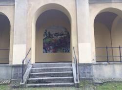 Puliscono la chiesetta di San Rocco imbrattata dai vandali