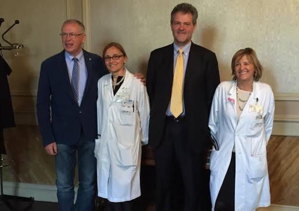Punto polmone: dottoressa Pinotti, dottor Avanzi, Professor Dominioni e dottoressa Gambarini