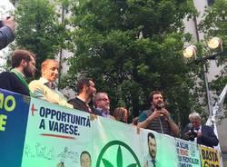Salvini a Varese il 23 aprile