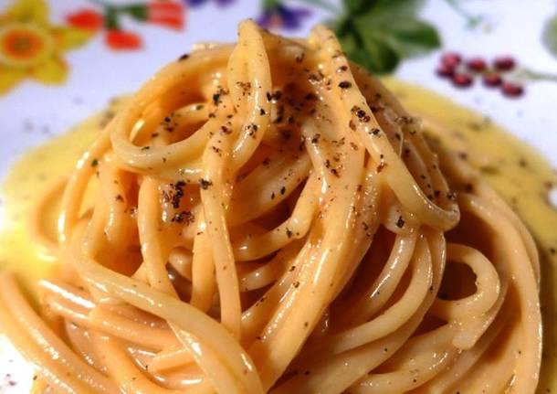 Spaghetti Cacio e Ova