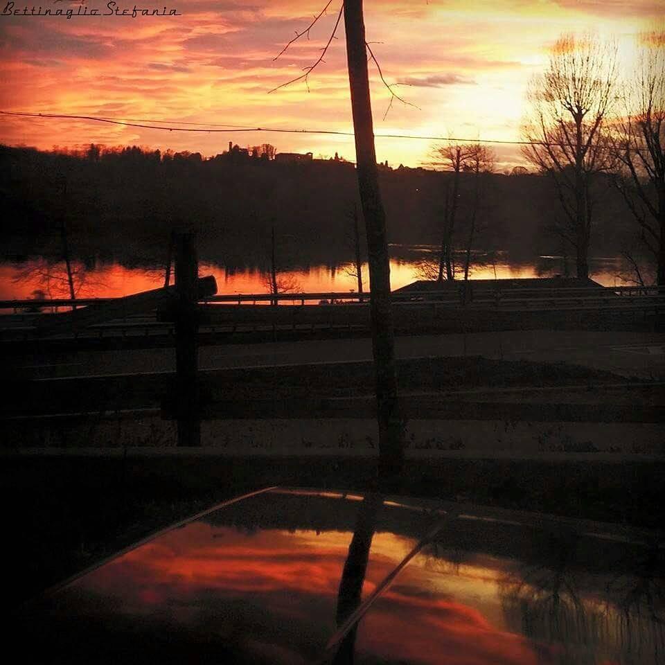 tramonto con indovinello