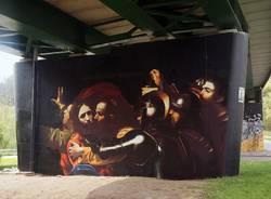 Un Caravaggio nel viadotto: l'ultima opera di Urban Canvas