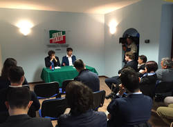 Varese - incontro di forza italia giovani