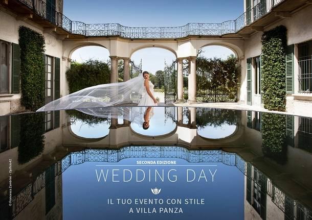wedding day a Villa Panza