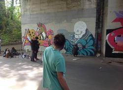 Writers in via Mozart per Urban Canvas