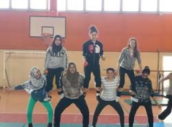 A scuola di circo all'Ipsia Parma di Saronno