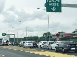 A8 Lainate Arese uscita autostrada