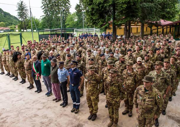 bisuschio - esercito italian raid commando 2015