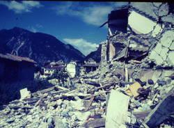 I varesini in Friuli per la ricostruzione dopo il terremoto