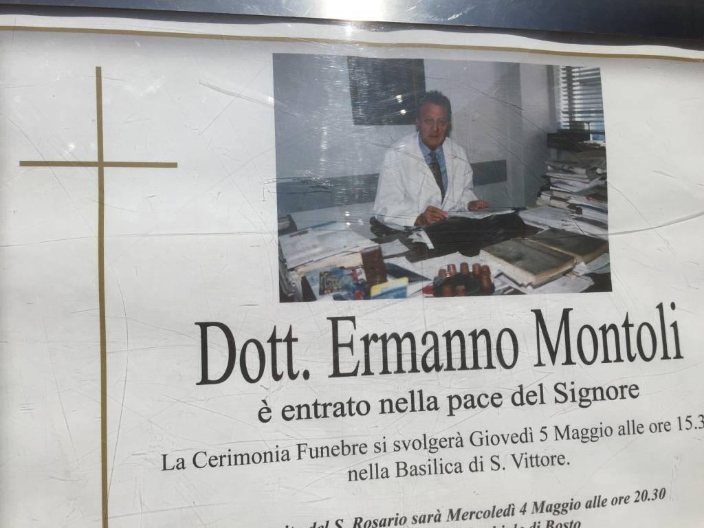 L\'ultimo saluto a Ermanno Montoli