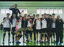 YAKA volley malnate U 18 promosso in serie C