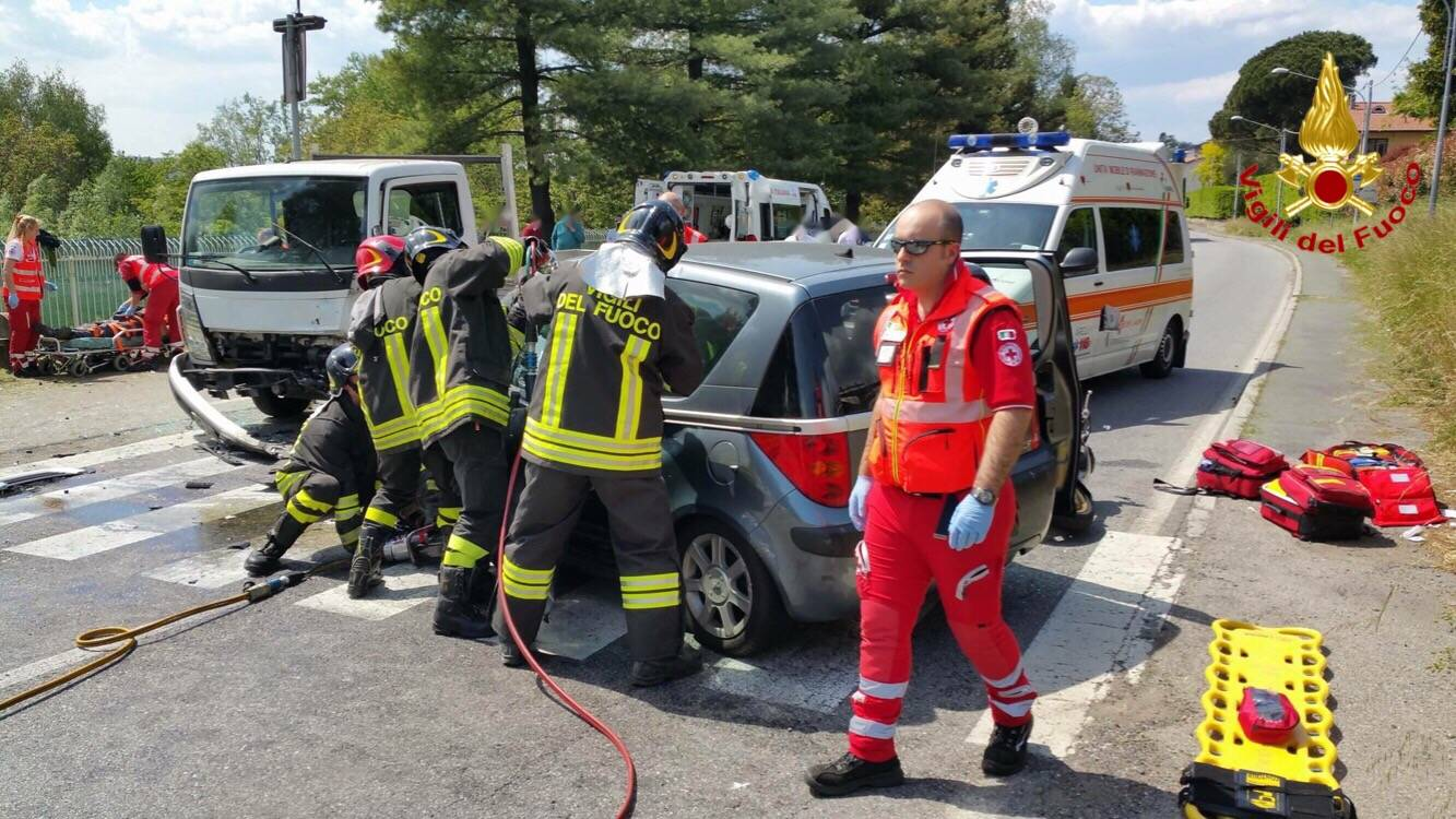 Incidente sulla Sp1